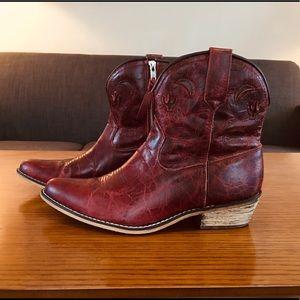 Dingo Ladies Adobe Rose Western Boots Sz 9.5